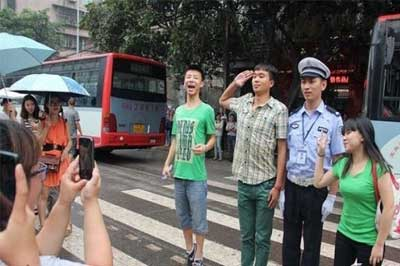 最帅的交警_邯郸的司机朋友们,开车上路,这些规矩你懂吗